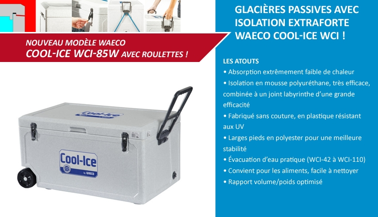 Glacières passives Waeco Cool-Ice WCI
