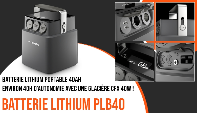 Batterie lithium portable Dometic PLB40